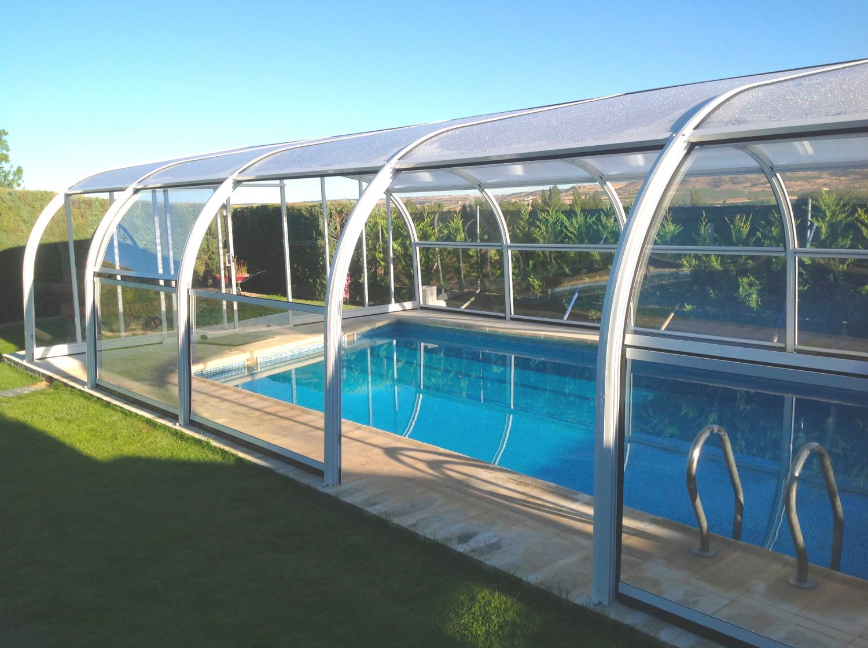 Cubiertas de piscinas altas cubiertas para piscinas - Cerramientos para piscinas ...