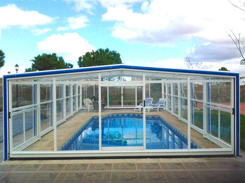 Cubiertas de piscinas altas cubiertas para piscinas for Cubiertas de piscinas