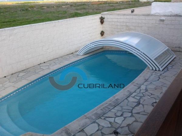 cubierta de piscina retractil cubriland