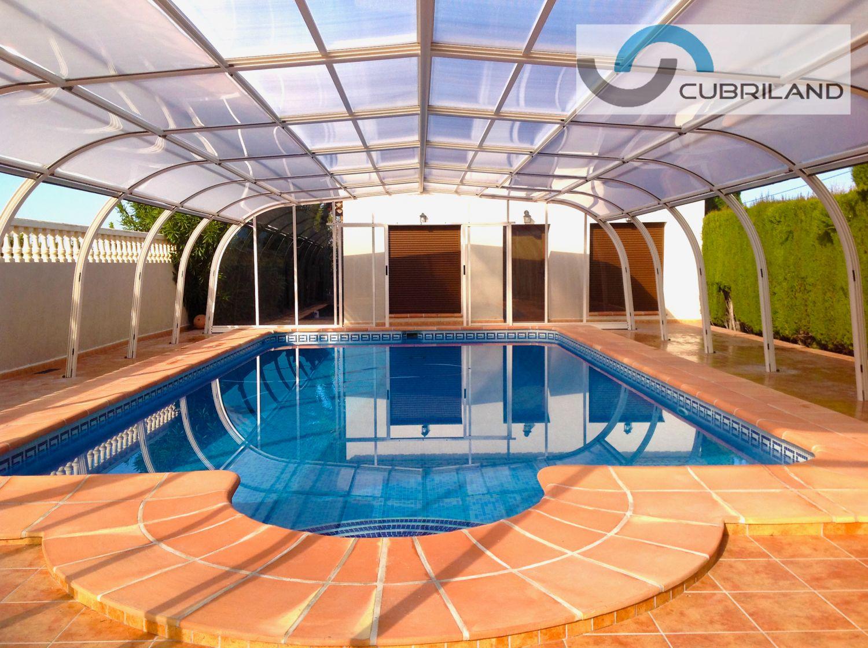 Cerramientos para piscinas cubriland - Cubierta de piscina ...