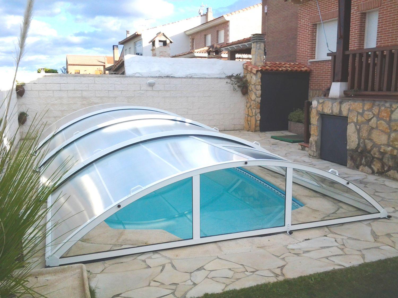 cubiertas de piscinas bajas cubiertas para piscinas