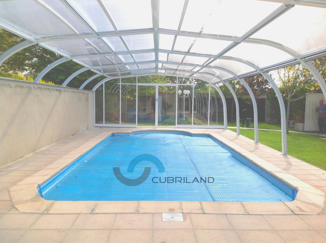cubiertas para piscinas en madrid cubriland