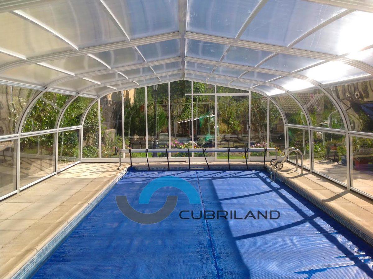 Cubiertas fijas cubriland for Cubiertas para piscinas