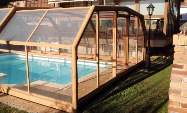 reparacion de cerramientos de aluminio para piscinas
