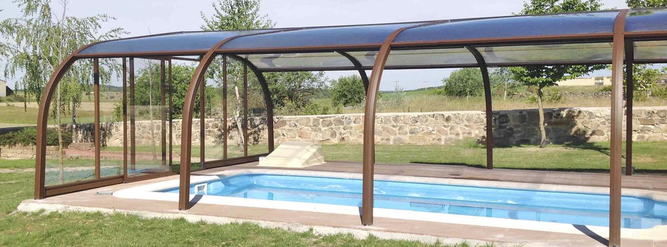 Cubiertas para piscinas en madrid cubriland - Cubierta para piscinas ...