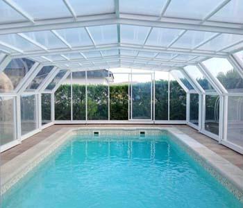 cubiertas para piscina modelo imola