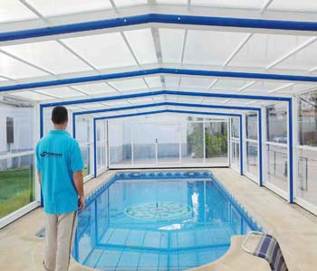 cubiertas para piscina modelo Malasia cubriland