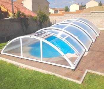cubiertas para piscina modelo san marino telecopica cubriland