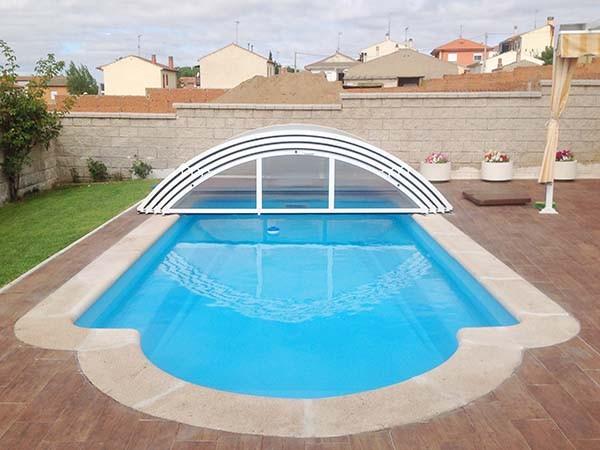 cubierta piscina baja sin railes