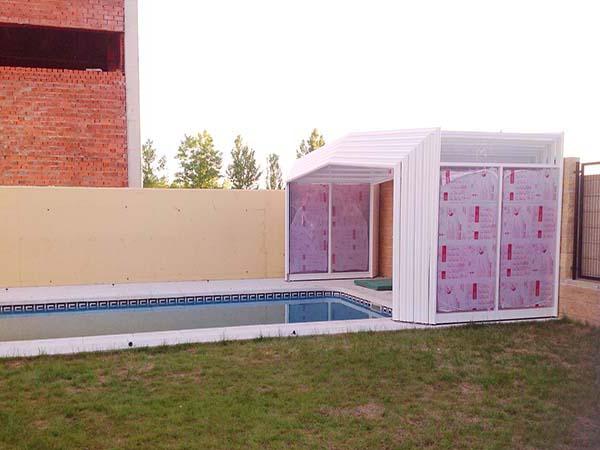 cubiertas de piscina desplegable cubriland