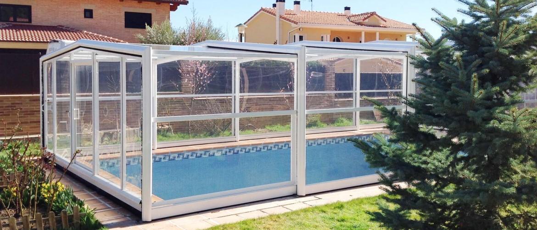 cubiertas telescopicas para piscinas cubriland