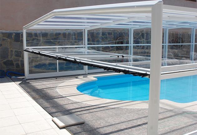 frontal cubiertas para piscinas cubriland