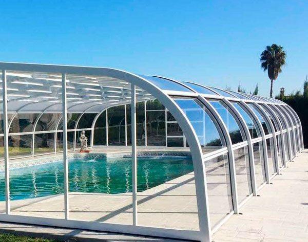 Cubiertas para piscinas y cerramientos cubriland for Piscina cubierta zaragoza
