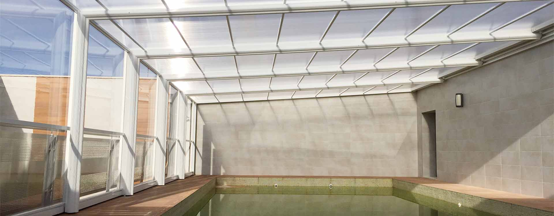 Cubiertas para piscinas y cerramientos comprar modelos for Cubiertas para casas