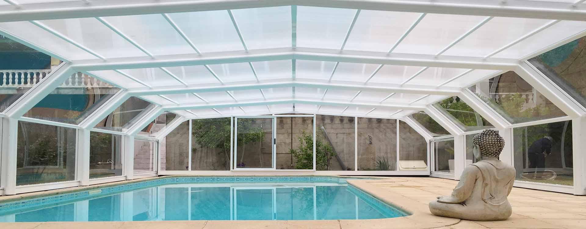 Cubiertas para piscinas al mejor precio cubriland for Cubierta de piscinas precios