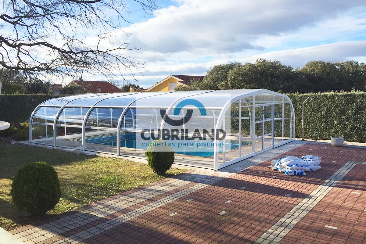 Cubierta telescopica piscina dise o casa dise o for Piscinas en alcampo 2016