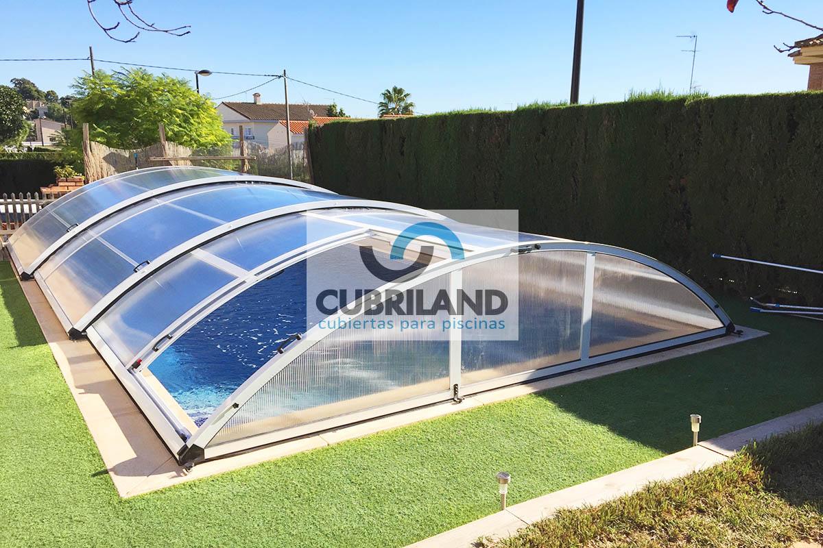 Cubiertas para piscinas c diz cubriland for Piscina ciudad de cadiz