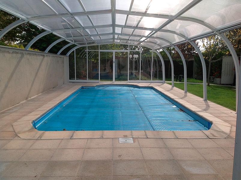 cubiertas para piscina modelo assen adosado cubriland