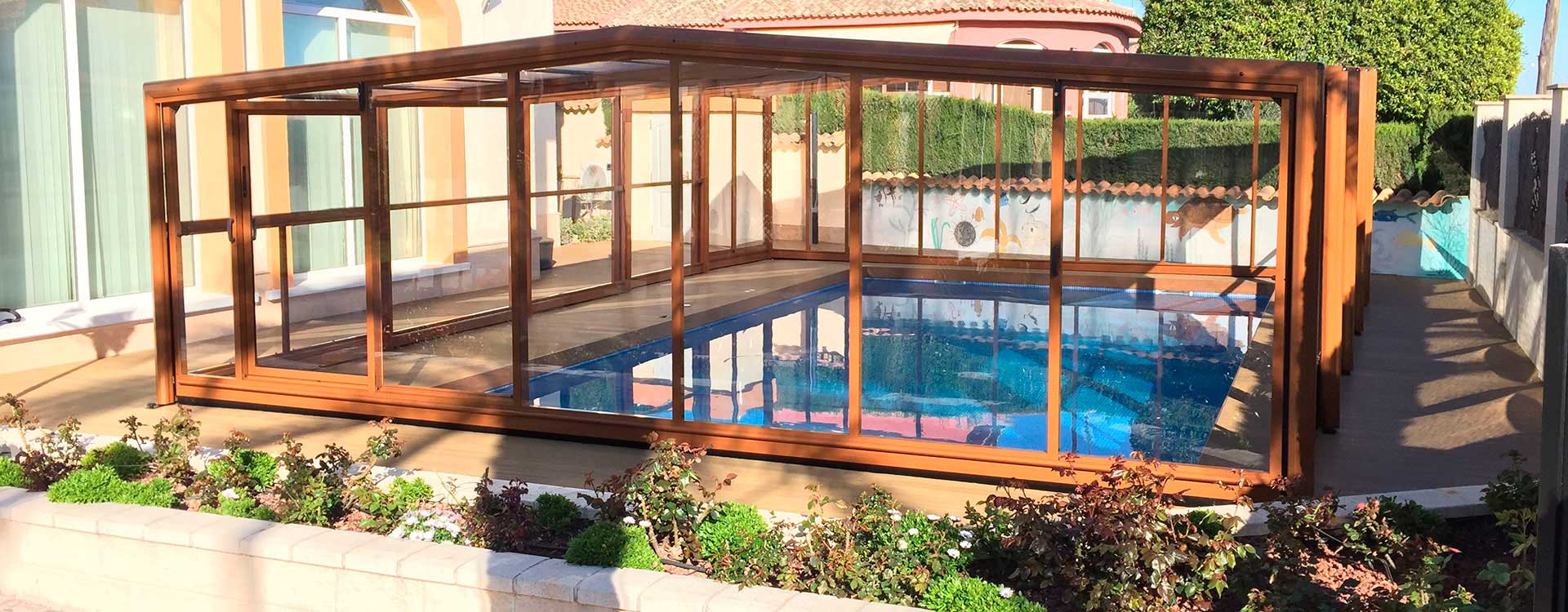 Cubiertas de piscinas y cerramientos comprar modelos del for Cubierta de piscina