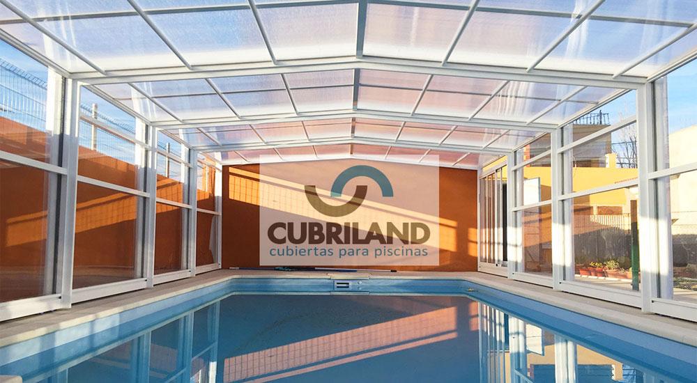 Cubiertas para piscinas en cuenca con cubriland acertar s for Hoteles con piscina en cuenca