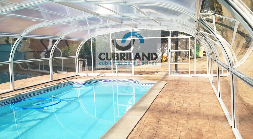 Cubiertas para piscinas en huesca con cubriland acertar s - Hoteles en huesca con piscina ...