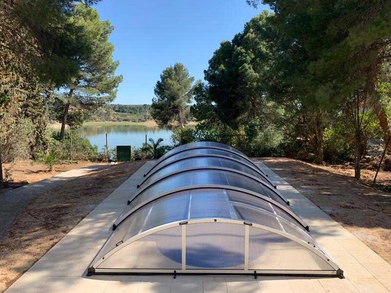 adaptable a tu piscina con cubiertas bajas