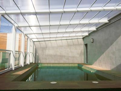cubiertas de piscina malasia adosada