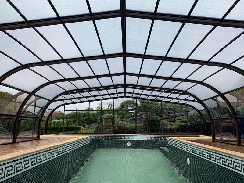 cubiertas assen protegen piscina