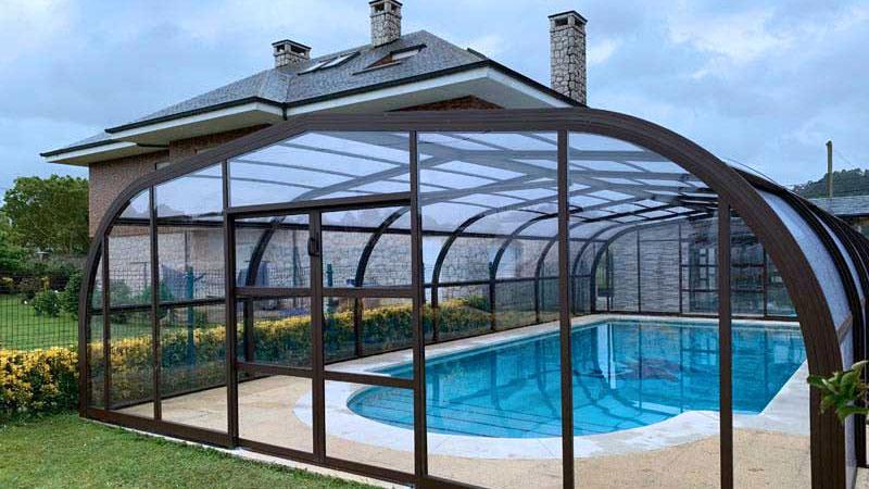 cubierta de piscina tipo assen