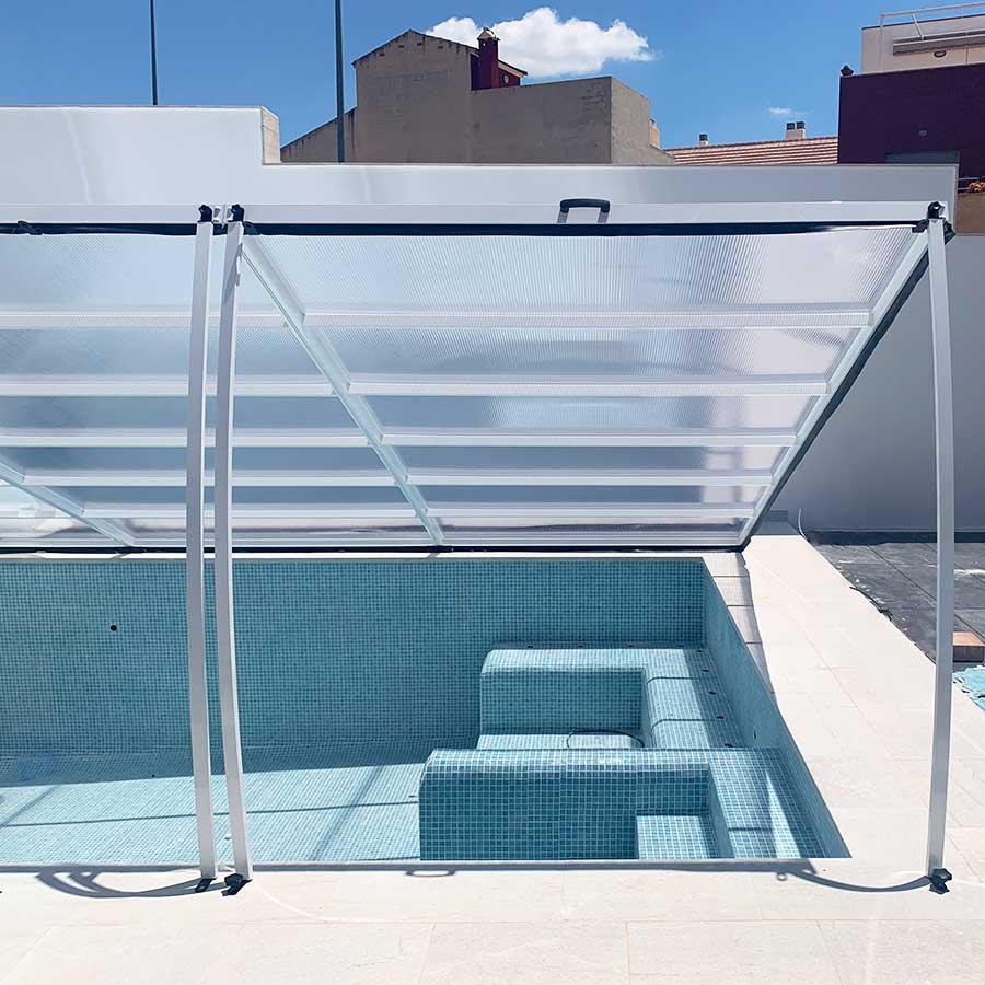 cubierta plana elevable