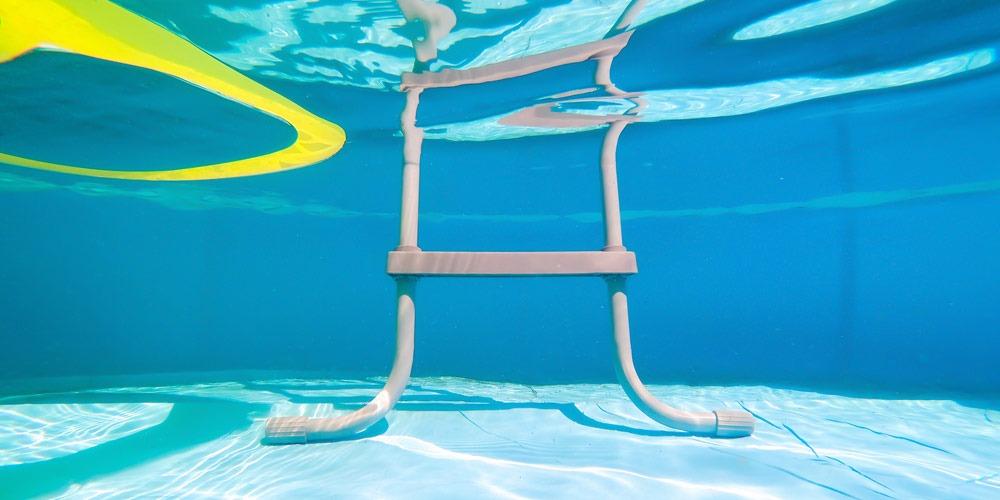 escaleras sin obra para piscinas