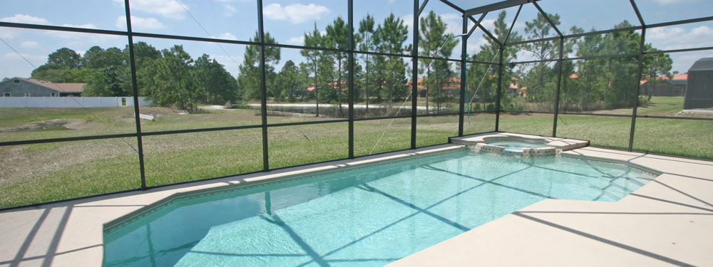 ubicación privada para piscina