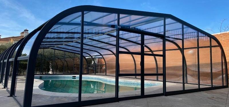 estructura alta para tu piscina