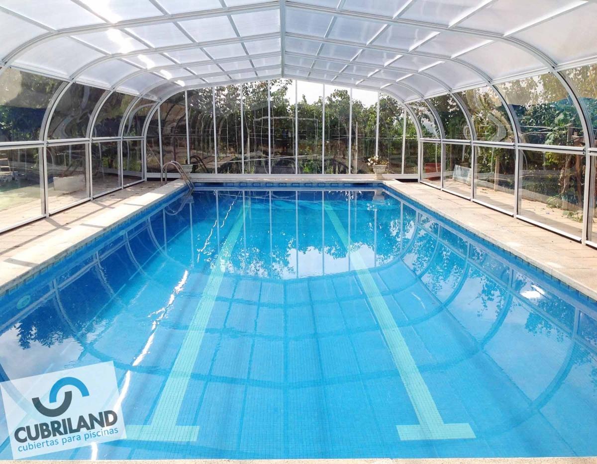 Cubierta alta fija de puertas elavables para piscinas Cubierta piscina precio